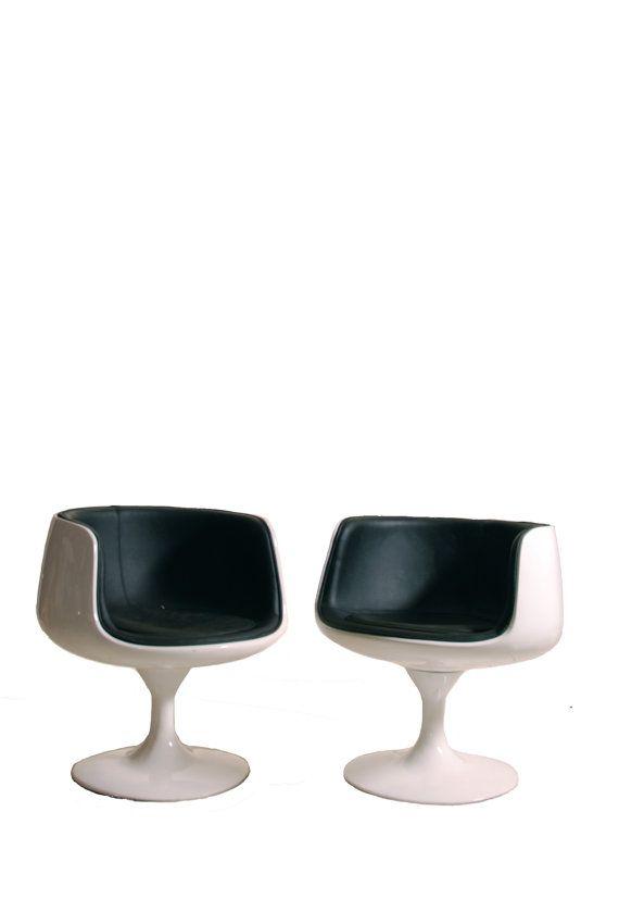 Matching Eero Aarnio Cognac Chairs Circa 1966