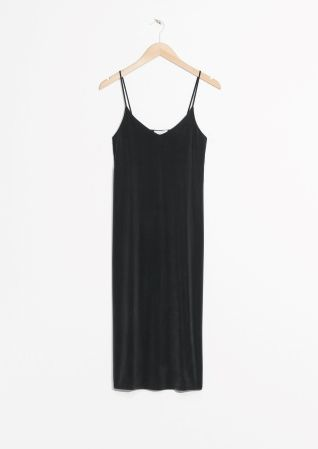 & Other Stories | Cami Strap Cupro Dress