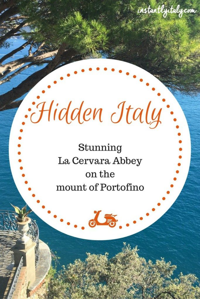 There is a corner of paradise on the hills near Portofino and very few people know about it. It's La Cervara, a former Medieval Abbey on a cliff overlooking the sea. Check the post if you want to read more about the complex and its amazing garden.