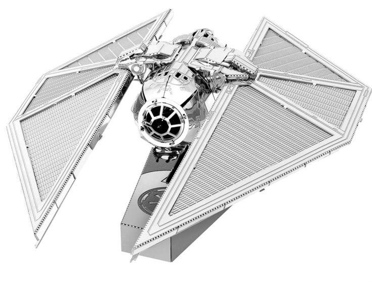 3D kovové puzzle METAL EARTH Star Wars Rogue One: Tie Striker