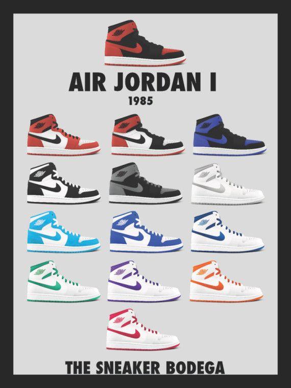 Air Jordan Retro OG Posters | Ciara | Air jordans, Jordans ...
