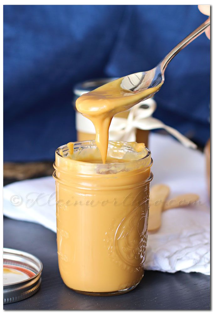 Dulce de Leche - Slow Cooker Method