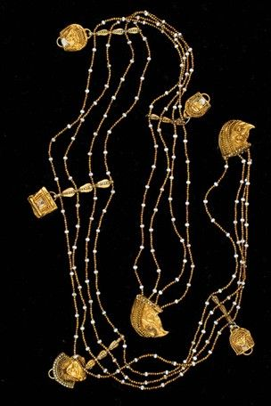 Phoenician Necklace, ca. 7th c. BC.
