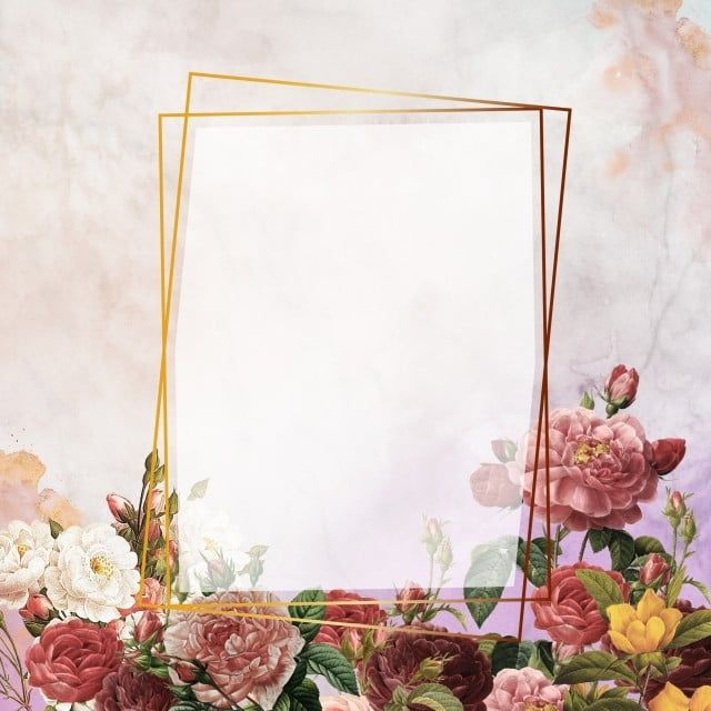 Golden Om Marble Wallpaper Geometric Golden Floral Png Transparent Clipart Image And Psd File For Free Download Rose Frame Rose Clipart Blue Wallpaper Iphone