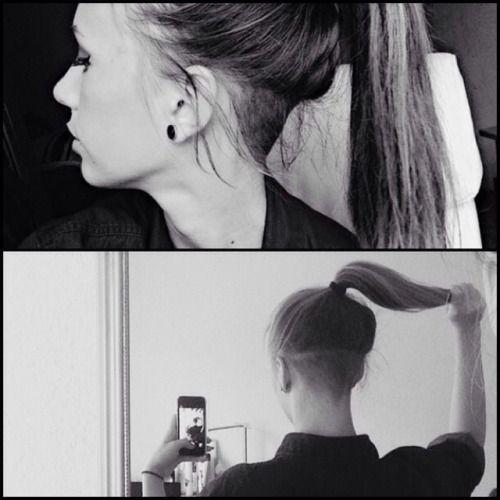 shornnape: #regram #repost #undercut #undershave... - Hipster Hair ...