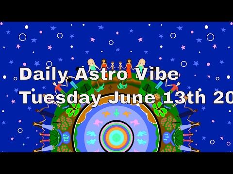 Daily Astrology June 13th Vesta Jupiter Mercury Neptune Aquarius Today's Forecast Thank-you for sharing! With love and light, Donna Vistit …