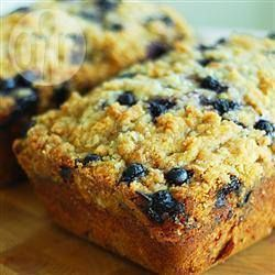 Blueberry courgette cake @ allrecipes.co.uk
