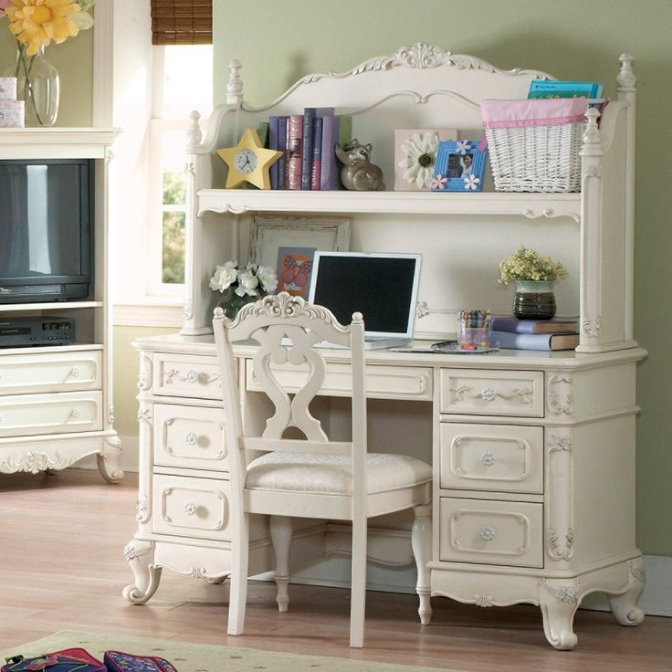 teenage room furniture. cinderella writing desk with hutch homelegance find this pin and more on teen room furniture teenage