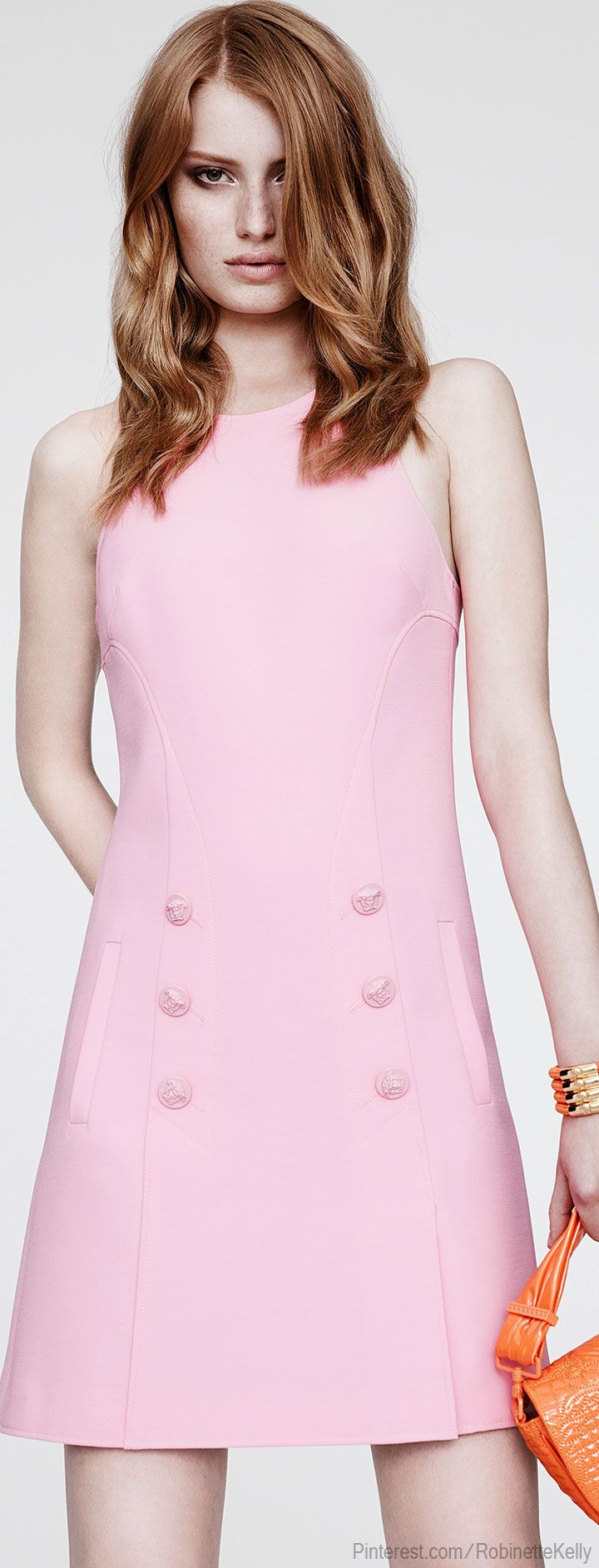 #Versace Resort 2014 #Pink