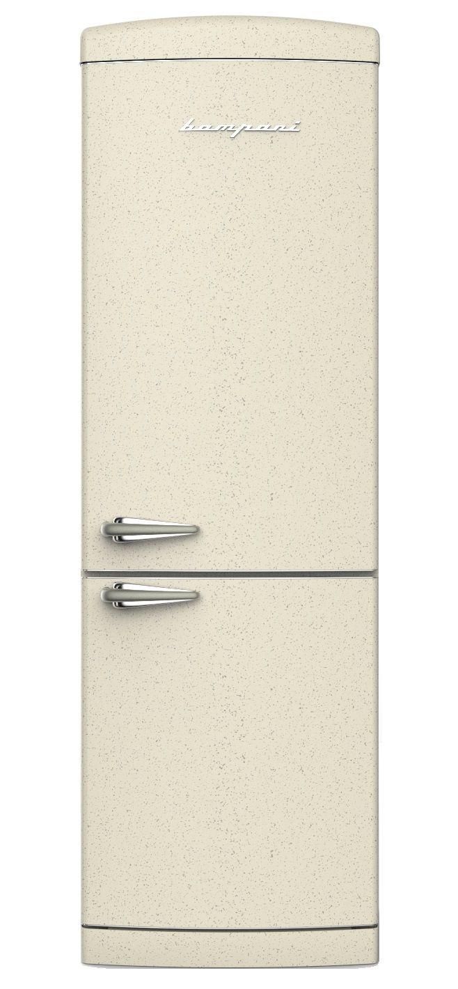 frigo bompani retr combi full no frost avena bocb669 d bompani architettura design. Black Bedroom Furniture Sets. Home Design Ideas