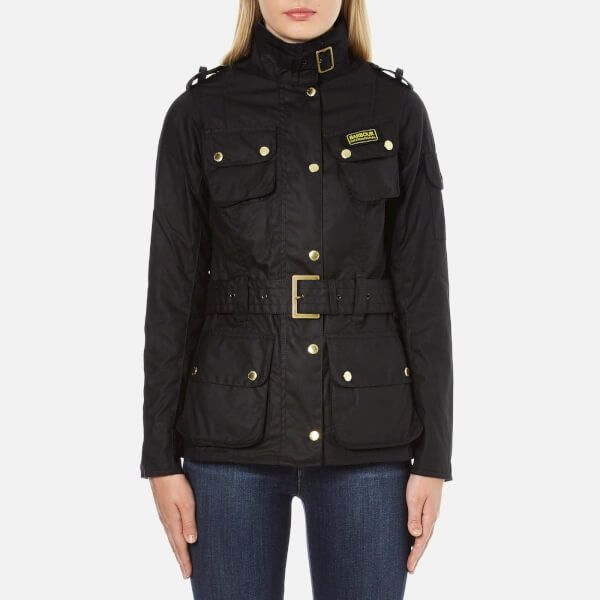 Barbour International Women's Ladies International Jacket Black