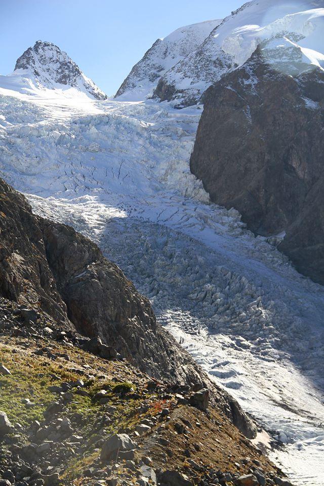 Cresta Guzza  Ghiacciaio  Munterasc