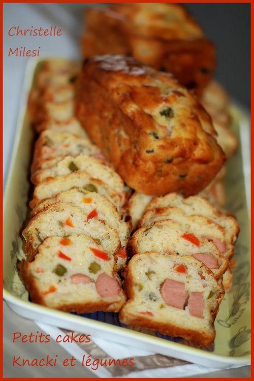 Petits cakes Knacki et légumes