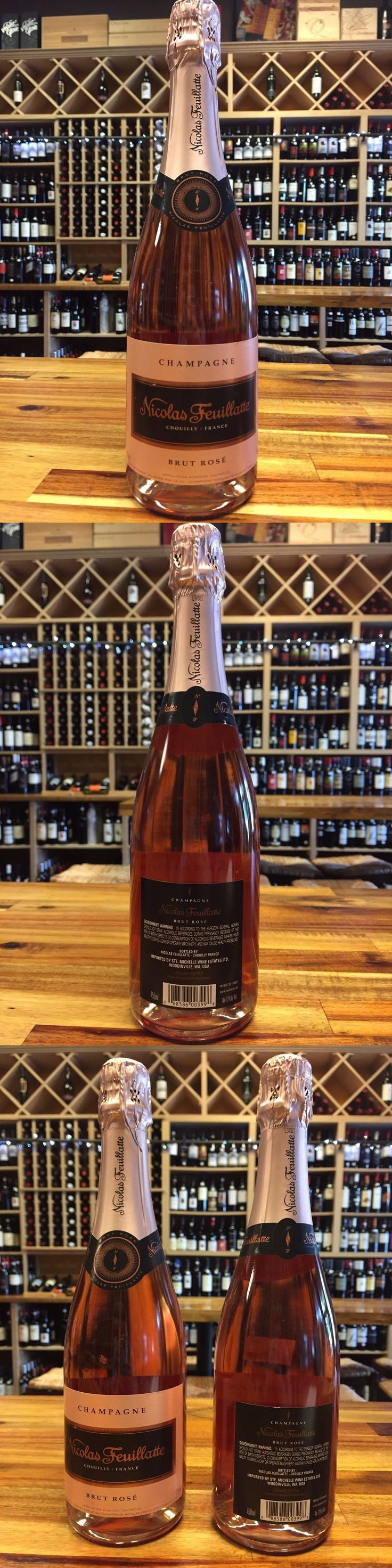 Champagne and Sparkling Wines 26272: Nicolas Feuillatte Brut Rose Nv Champagne -- **12 Bottles** -> BUY IT NOW ONLY: $729.6 on eBay!