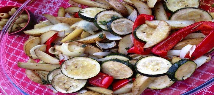 Ratatouille ovenschotel - Koken voor mijn peuter