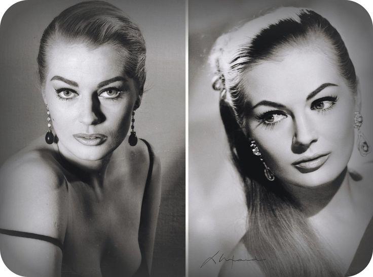 Анита Экберг (1931 — 2015) — шведская актриса и фотомодель. Она наиболее известна ролью Сильвии в фильме Федерико Феллини «Сладкая жизнь» 1960 года и считается одним из секс-символов итальянского кино 60-х годов.