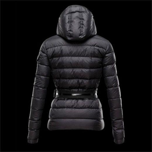 bonnet moncler, original Moncler Doudoune Femme pas cher BEA Noir, manteau long femme
