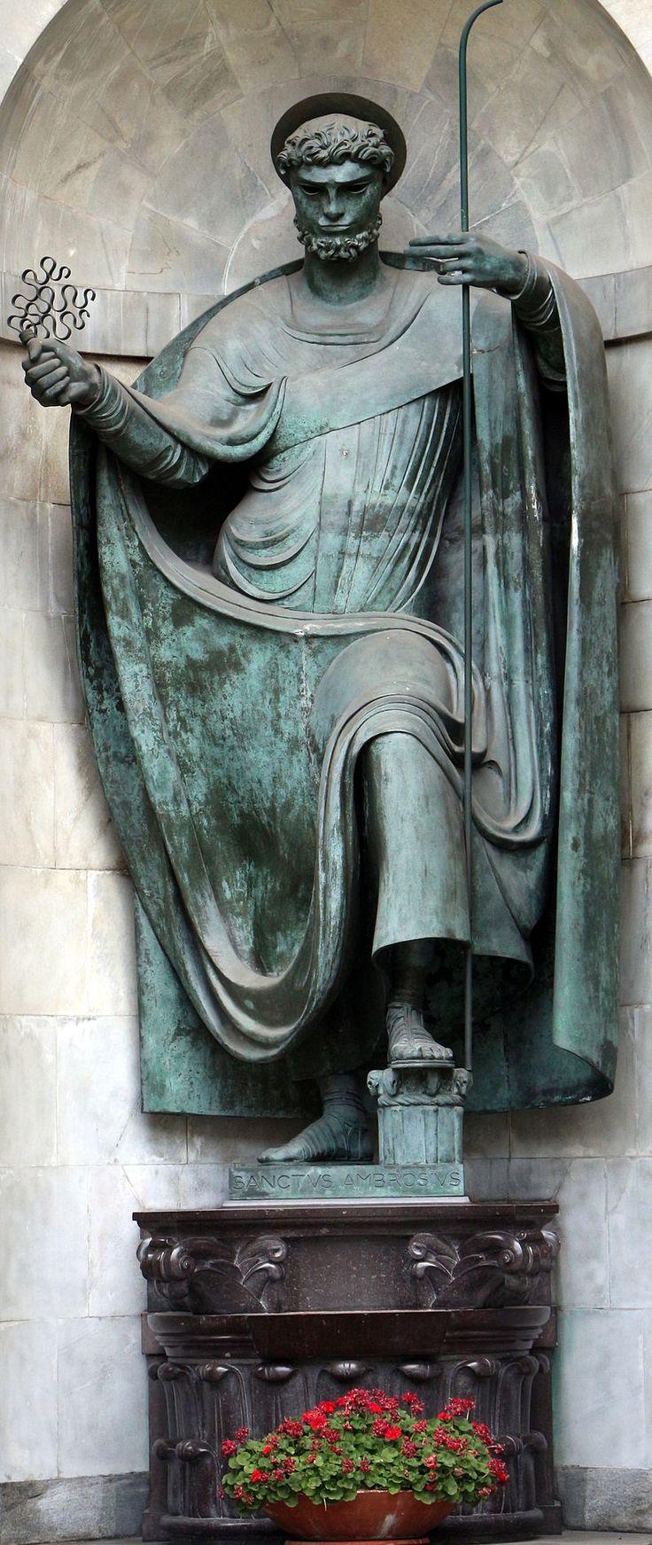 Adolfo wildt, sant'ambrogio che calpesta i vizi capitali, bronzo, 03 - Adolfo Wildt - Wikipedia