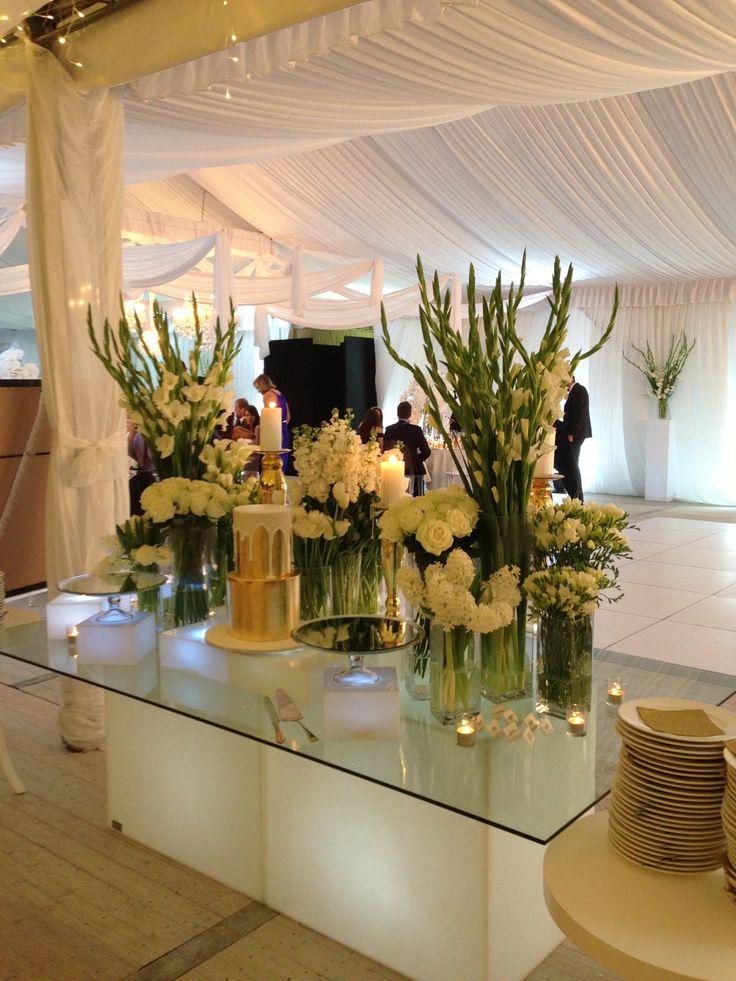 Stunning Cake & Dessert table at the Eumundi wedding.