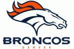 Denver Broncos Primary Logo - National Football League (NFL) - Print out for end zone