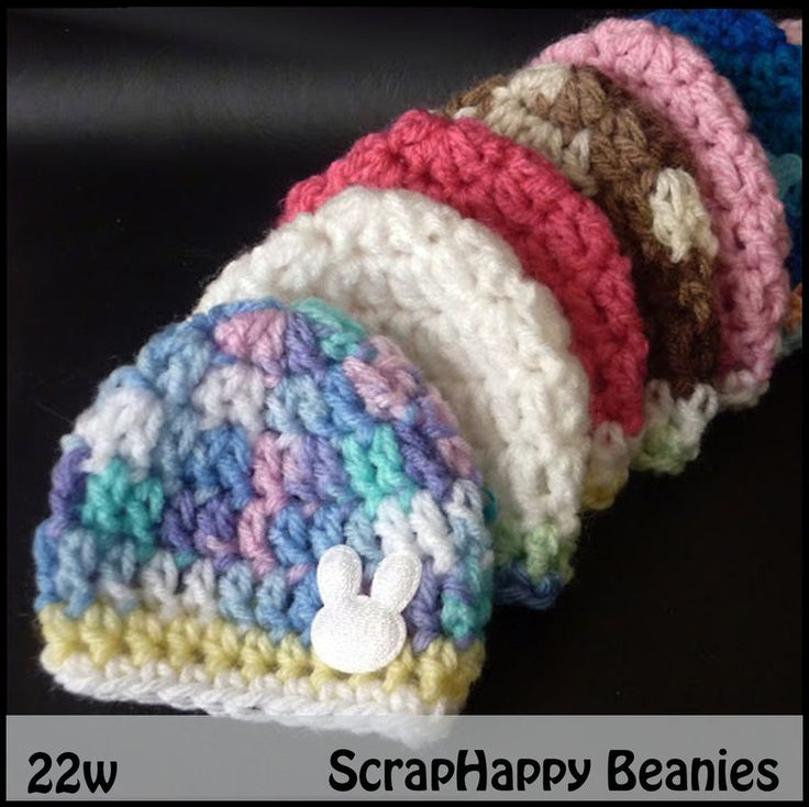 Free Crochet Pattern Preemie Cap : 25+ best Preemie Crochet ideas on Pinterest Crochet ...