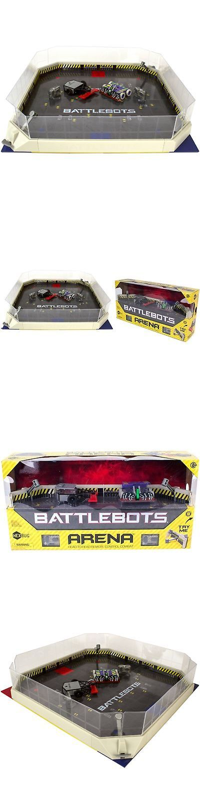 Micropets 52341: Battlebots Arena Playset Fold Out Game Board Remote Control Metallic War Zone -> BUY IT NOW ONLY: $78.28 on eBay!