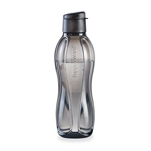 LARGE ECO WATER BOTTLE/JET BLACK Drinking just a little more water throughout your day can make a real impact on your health, and doing so with durable, reusable bottles make the planet feel better, too. And they also make great gifts.  36-oz./1 L capacity