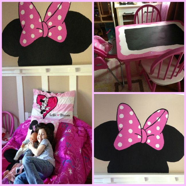 17 best images about minnie mouse bedroom on pinterest. Black Bedroom Furniture Sets. Home Design Ideas