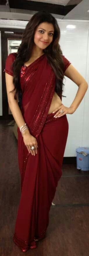 Kajal in saree