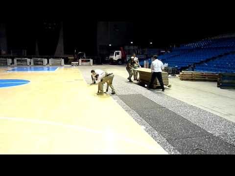 Pavimento sportivo smontabile #DallaRiva #sapevatelo #basket