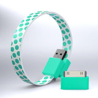 MohzyLoop USB to Micro-USB Cable  $15 - wear as a wristband in great colors and patterns.  Perfect for students
