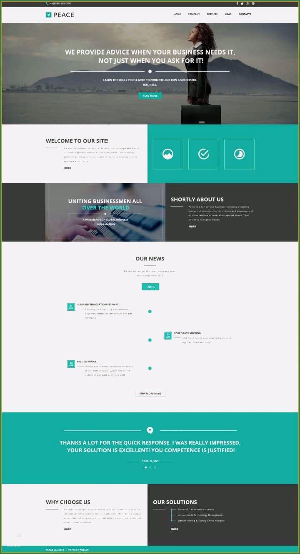 15 Exquisit Fein Bildergalerie Html Vorlage Di 2020 Desain Web Desain Website