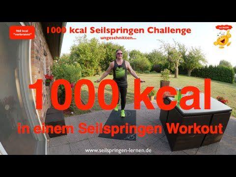 Die Seilspringen Challenge 1000 kcal war meine eigene Herausforderung. Hiermit…