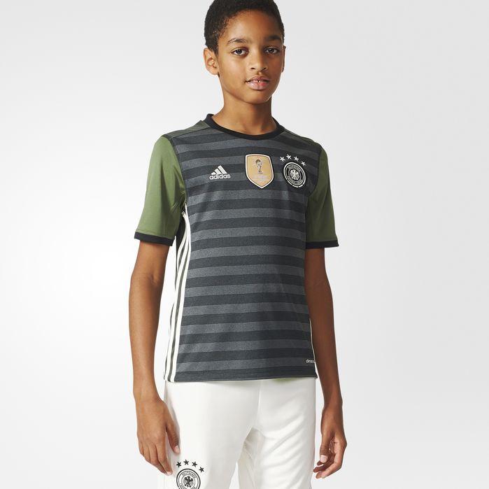 adidas UEFA EURO 2016 Germany Away Replica Player Jersey - Kids Soccer Jerseys
