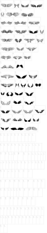 Wings of Wind TFB Font | dafont.com
