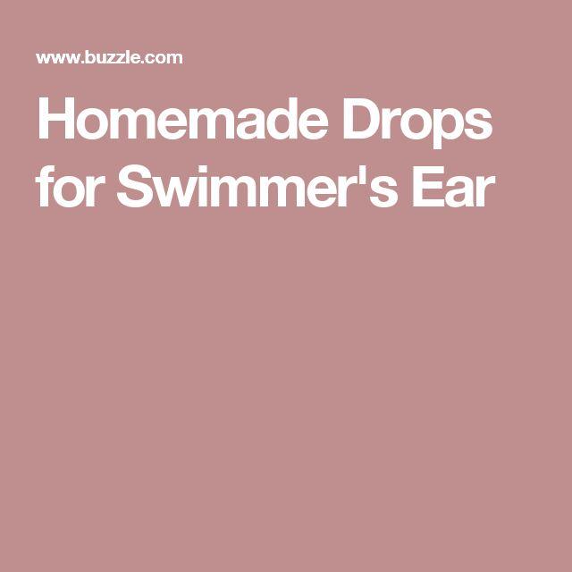 Homemade Drops for Swimmer's Ear