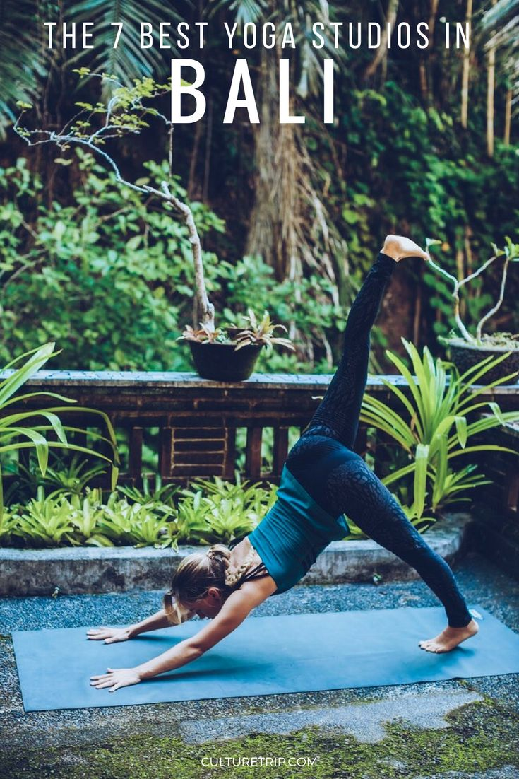 The 7 Best Yoga Studios in Bali