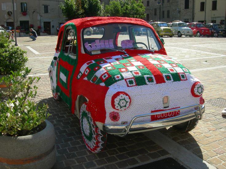 3° raduno Fiat 500 - Comune Cupramontana (AN) - Italia 2014