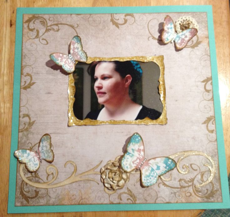 Single scrapbook page. Designed by Lissa bannister independent Kaszazz consultant 106546