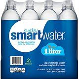 Price: $6.64   Glaceau Smartwater Vapor Distilled Water, 33.8 Ounce (Pack of 6)
