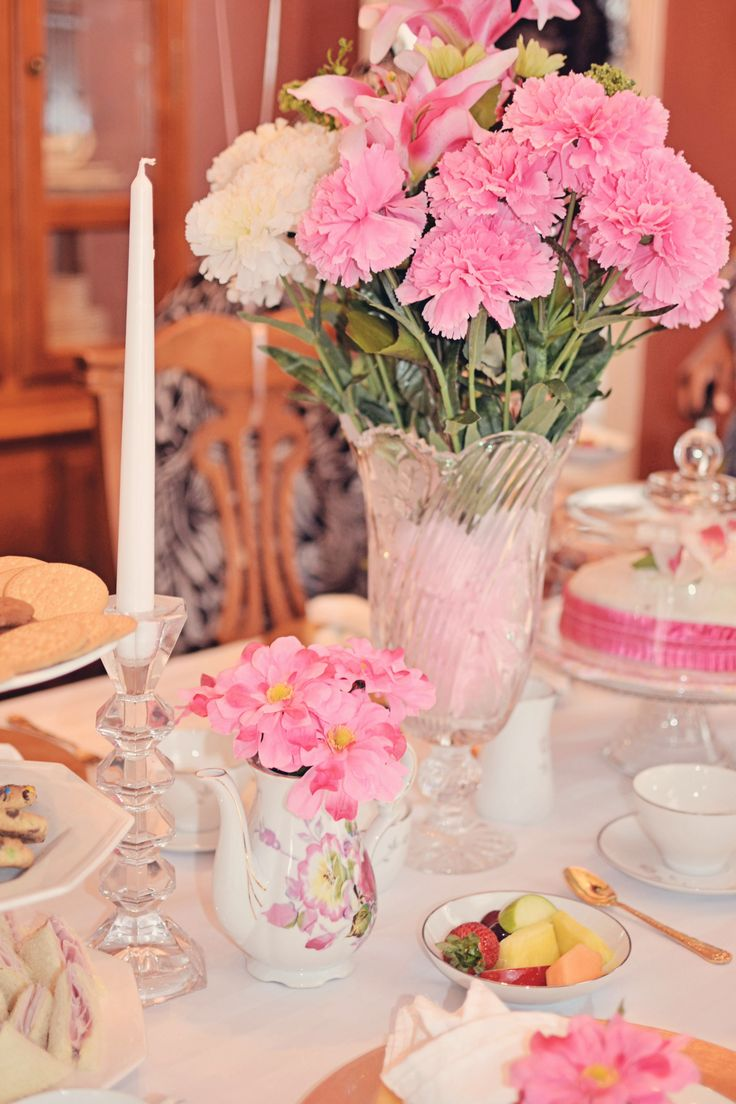 Kids tea party table - Table For Nali S Pink Princess Tea Party