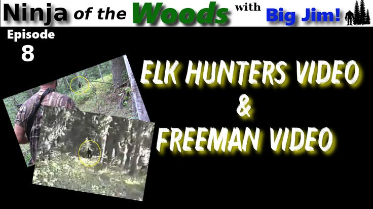 Ninja of the Woods - Elk Hunters videos and Freeman Footage - In this the 8th episode of Ninja of the Woods, host Big Jim discusses the very popular Elk hunters film a bigfoot video and he takes a look at the famous Paul Freeman bigfoot footage.     These two video are and have been very popular in the bigfoot community.  The Freeman footage is deeply embedded in the history of bigfoot evidence and research. The Elk Hunters video is wildly popular on social media and youtube.   Here is the…