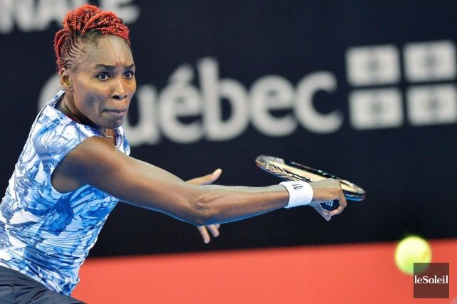 ♥ #TeamVee ... #1-Seed Venus Williams Advances To FINAL In Quebec City! Wild Card Venus won the All-American Coupe Banque Nationale SFs by def. #4-Seed Shelby Rogers. Next, Venus faces Mirjana Lucic-Baroni who advances to her 1st FINAL since 1998. 9/13/14