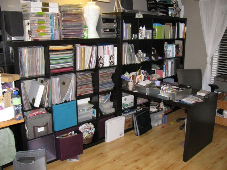 Furniture:Floor To Ceiling Cube Wall Shelves Ikea Storage All The Official Documents And Diverse Organizers And Personal Items With Black Desk Office And Swivel Chair Comfy Interior with Cube Wall IKEA Shelf for Neat Storage