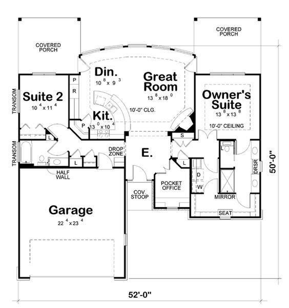 1364 best my better homes and gardens dream home images on for Dream kitchen floor plans
