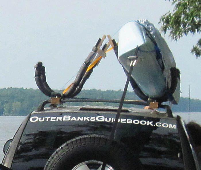 Diy Wooden Kayak Roof Rack   Google Search