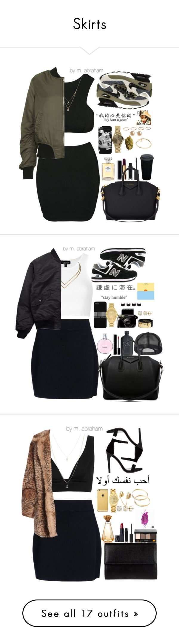 """Skirts"" by isabellacamaylaneverson ❤ liked on Polyvore"