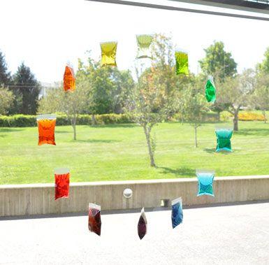 (via Window Color Wheel «Making Art with Children)