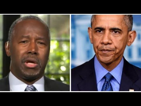 KABOOM! Dr  Ben Carson Just Found Something Out About Obama That Is Swee...