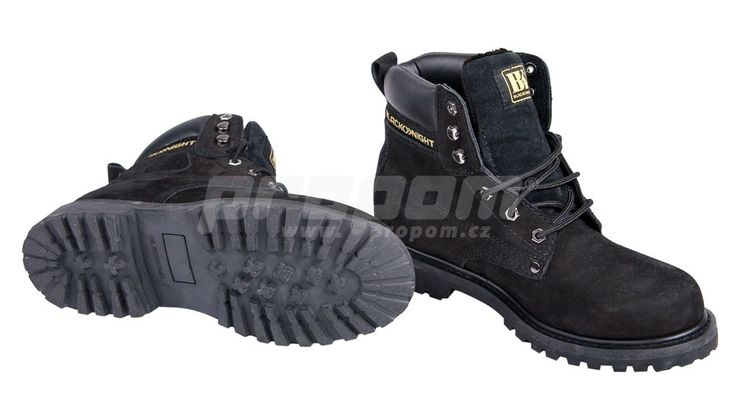 BLACK KNIGHT / Farmářka HONEY ankle, zimní - černá | Pracovní oděvy, pracovní…
